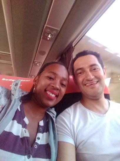 Amizade entre uma sul-africana e um brasileiro