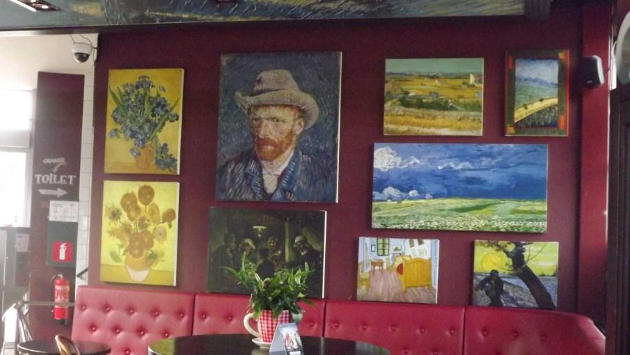 Pinturas do van Gogh