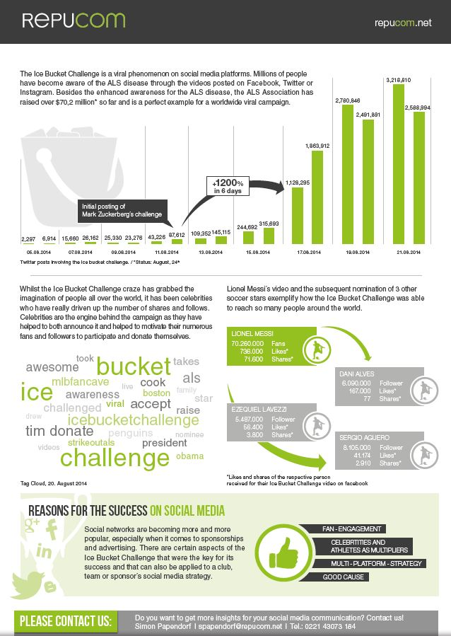 Ice Bucket Challenge one-Sheeter