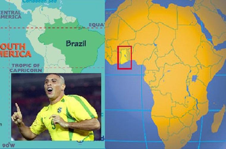Ronaldo is My Cousin - 1BabaSalam.com