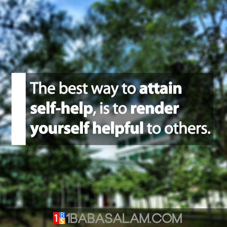 Render Yourself Helpful to Attain Self-Help - 1BabaSalam.com