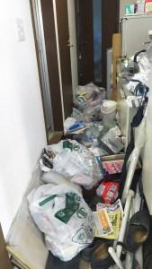 仙台市内で汚部屋の片付け