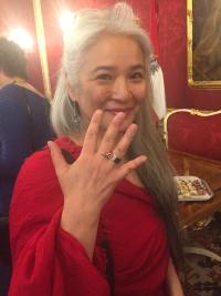 Aiko KazukoFrauenring-Preis 2018 für OBRA: Kurosaki ist Trägerin des Frauenring-Preises 2018. Foto: Petra Paul