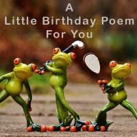 Short Funny Birthday Poems