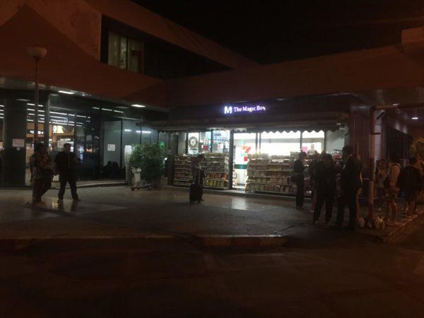 ドンムアン空港3F出発ロビー近くの非公式喫煙所