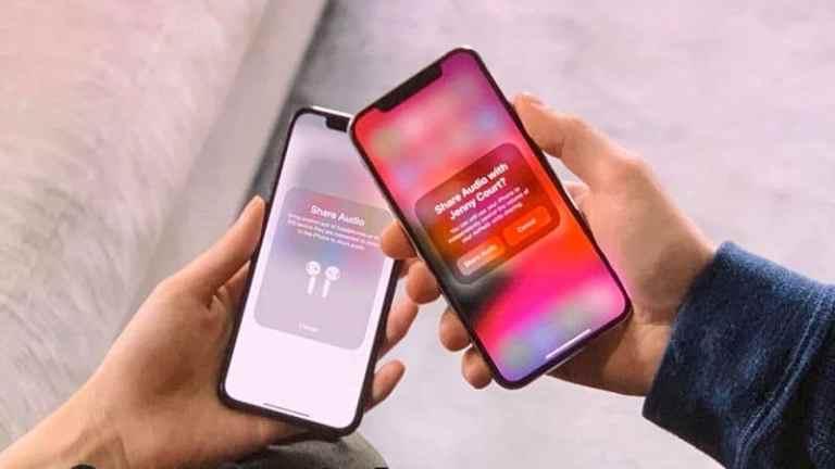 Как поделиться аудио на несколько AirPods с iPhone