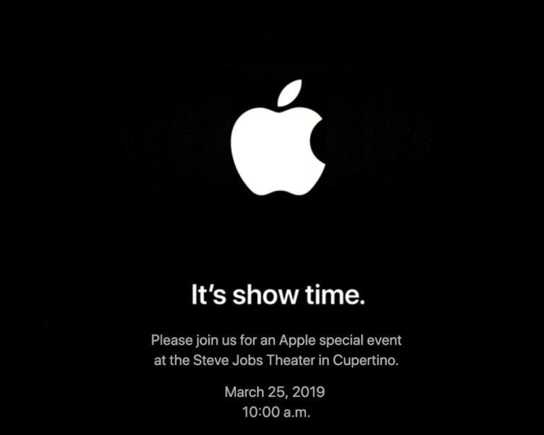 Как смотреть в прямом эфире событие Apple 'It's Show Time'