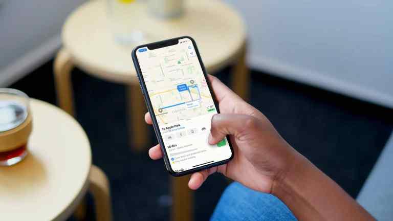 Как проложить велосипедные маршруты в Apple Maps на iPhone