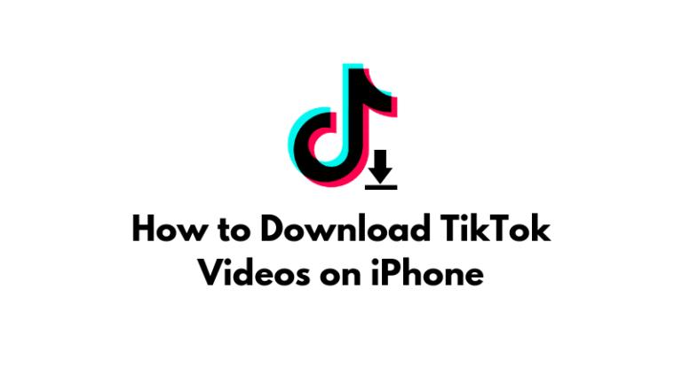 Как скачать видео из TikTok на iPhone