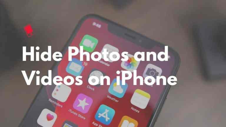 Как скрыть фото и видео на iPhone