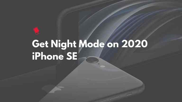 Как включить ночной режим на iPhone SE (2020)
