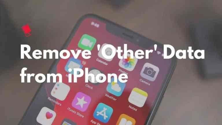 """Как удалить """" другие """" данные, чтобы освободить место на iPhone"""
