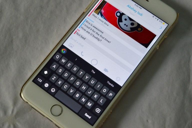 Как общаться и отвечать на снимки в приложении Snapchat для iPhone