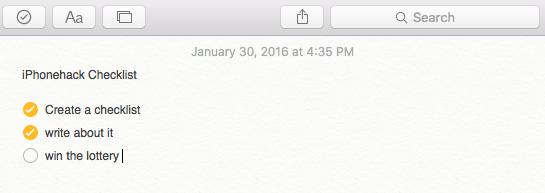 Как создавать контрольные списки в приложении Notes на iPhone, iPad и Mac
