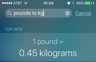Как решать математические задачи в iOS 9