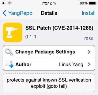 Исправить ошибку SSL без обновления до iOS 7.0.6 или iOS 6.1.6