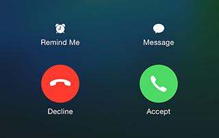 Не можете отвечать на звонки на вашем iPhone?  Попробуйте это решение