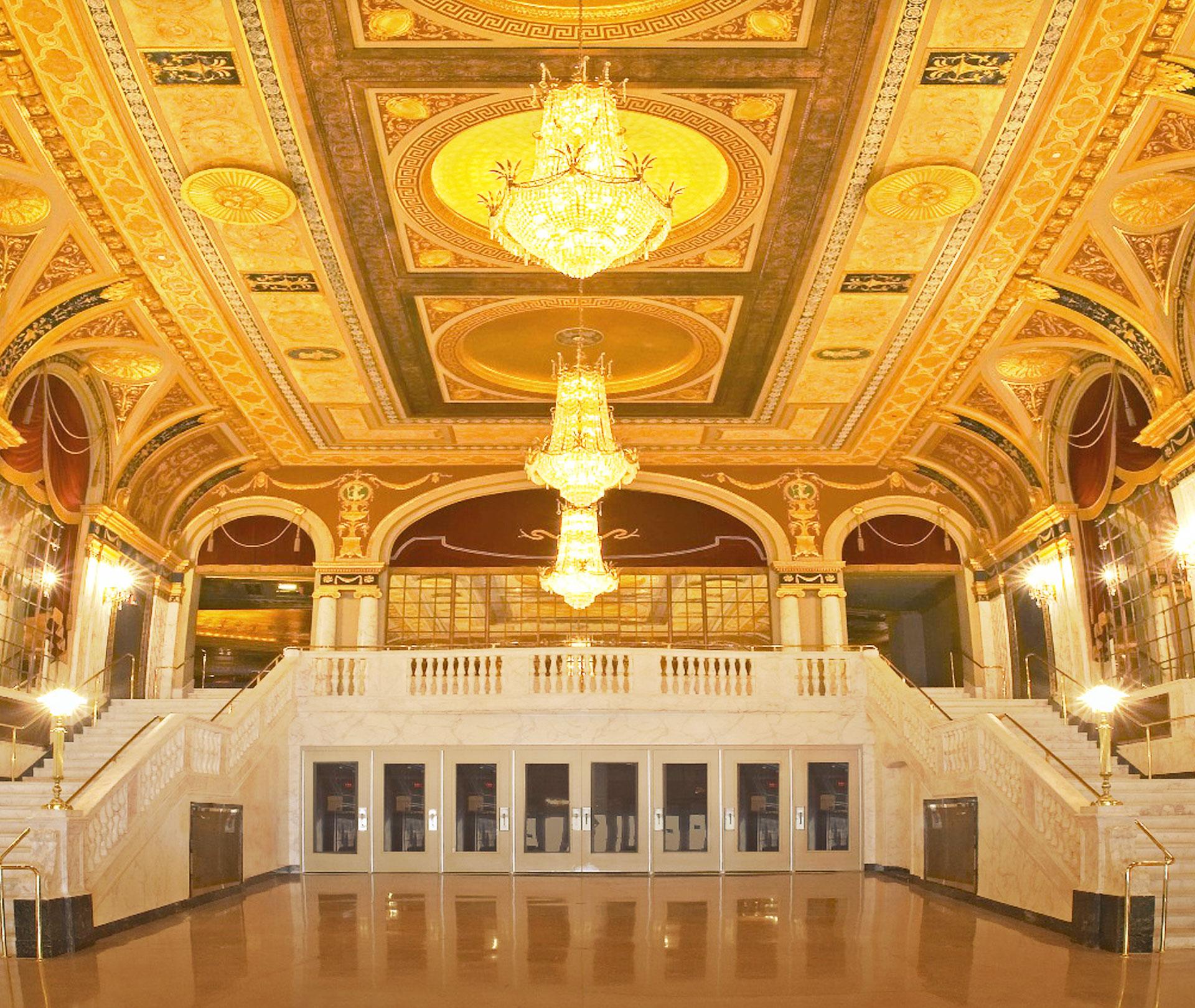 Seating Chart of The Palace Theater, Mezzanine & Balcony ...