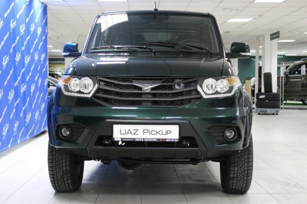 UAZ Pickup - specifications, equipment, photos, videos ...