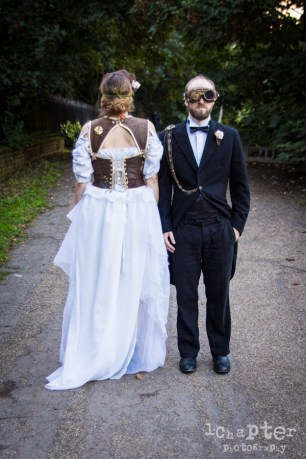 Steampunk Styled Wedding by 1Chapter Photography-52