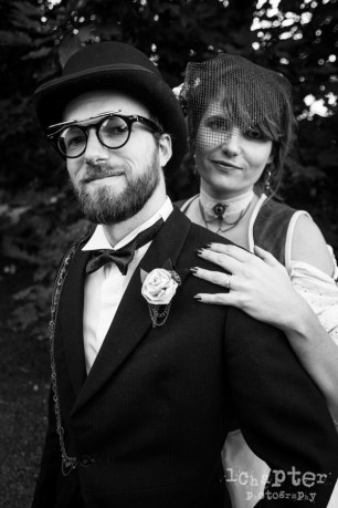 Steampunk Styled Wedding by 1Chapter Photography-55