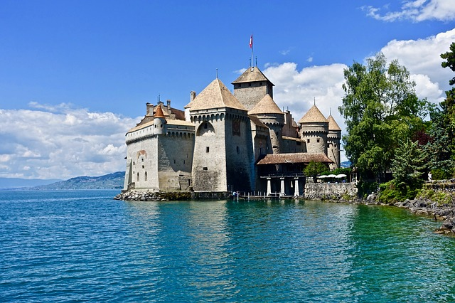 What You Decide Now Will Affect History: Castle Chillon, Geneva