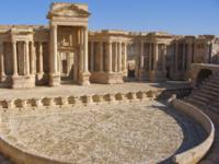 Древний город Пальмира в Сирии