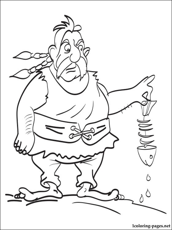Unhygienix Or Ordralfabetix Coloring Page Coloring Pages