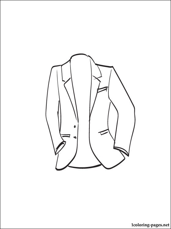 Blazer Coloring Page Coloring Pages