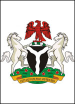 Nigerian Coat Of Arms Coloring Page Coloring Pages