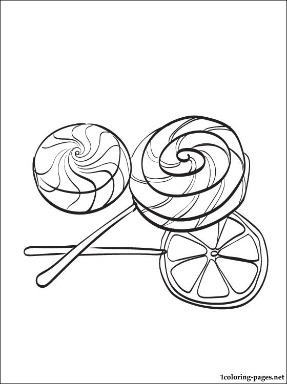 Candy coloring page coloring pages, love birds coloring pages