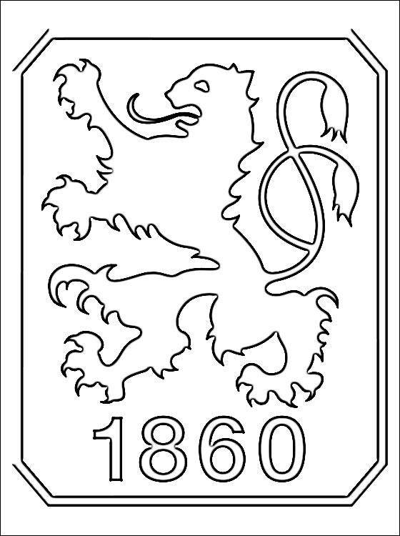 TSV 1860 Mnchen Coloring Page Coloring Pages