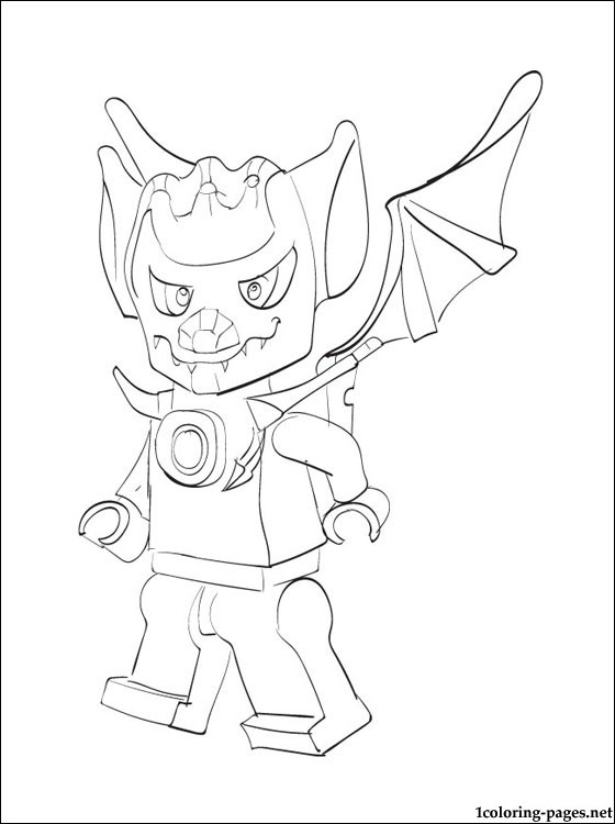 Lego Chima Blista Coloring Page Coloring Pages