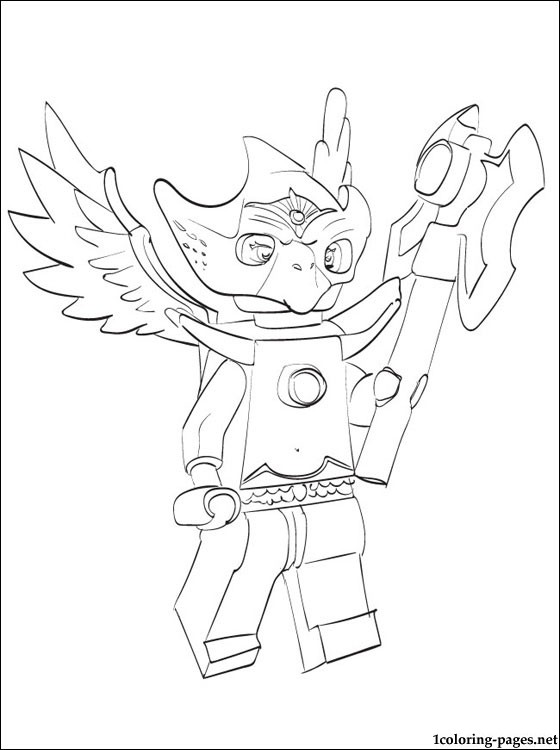 Lego Chima Eris Coloring Page Coloring Pages