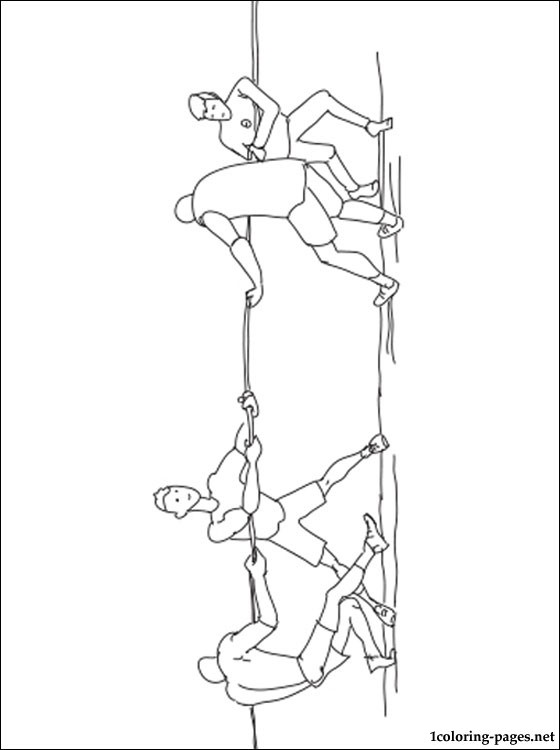 Tug Of War Coloring Page Coloring Pages