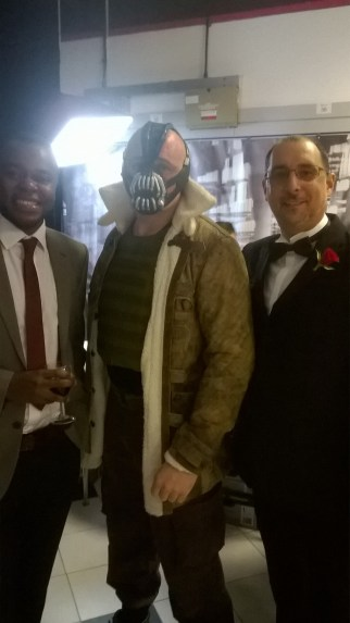 1create with Hullywood icon Bane from Batman