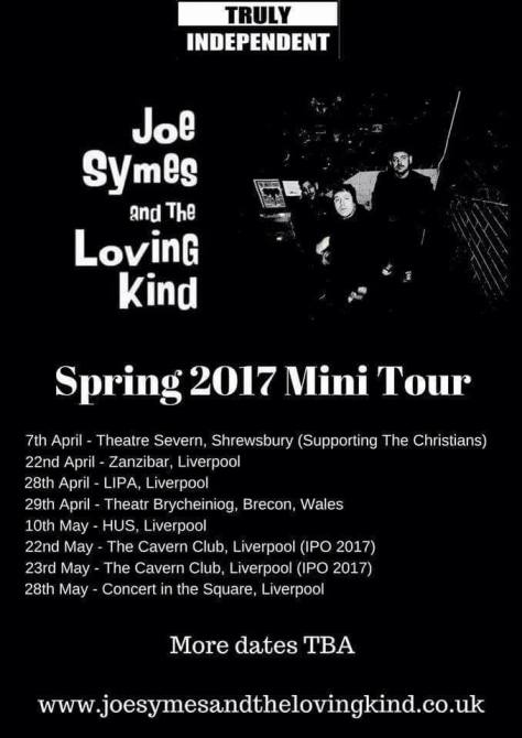 1create - joe symes and the loving kind tour dates