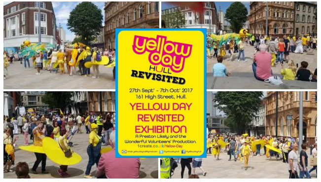 1create - yellow day revisited ad