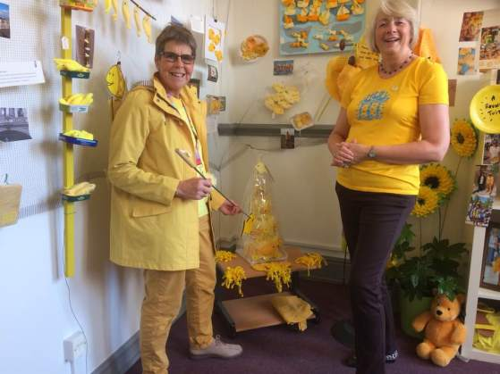 1create - Judy King and Janet Bark Yellow Day Hull Revisited