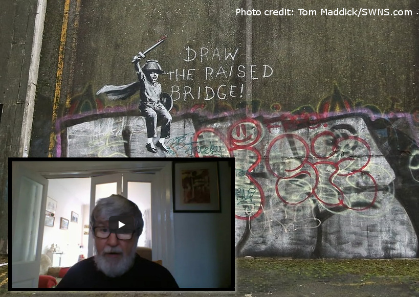 1create - banksy in hull Richard Harries