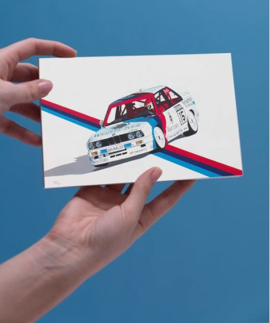 1create - greeting card M to the power of 3 by kieran roberts