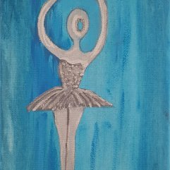 1create - Silver Ballerina 2 by Sue Caulfield