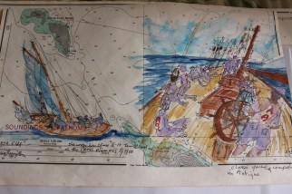 St Lucia Yachting Exhibition sketch 5