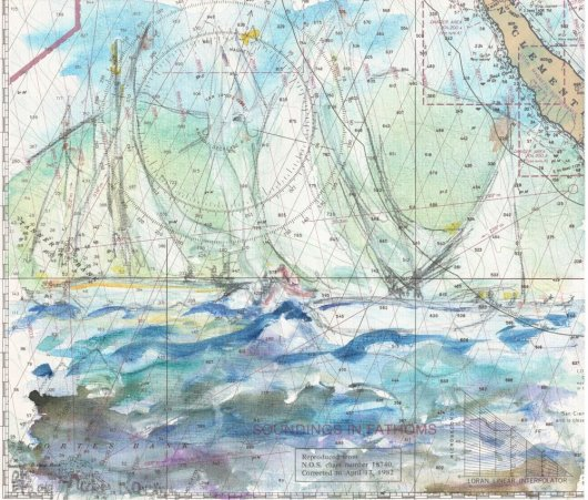 1create - Chart 1 - Yacht racing in the caribbean by Patricia Thompson