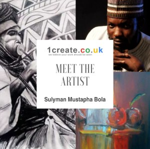 1create - meet the artist sulyman mustapha bola