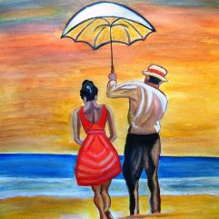 Romance on the Beach by Manjiri Kanvinde