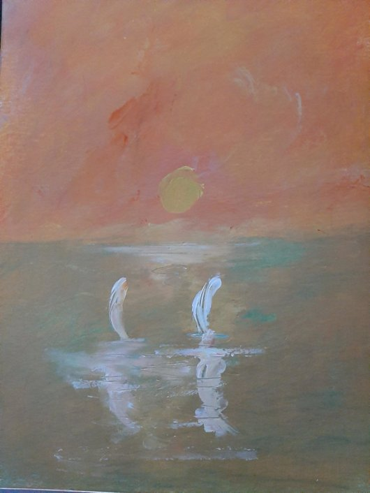 1create - Sailing by Sunset by Mark Noble