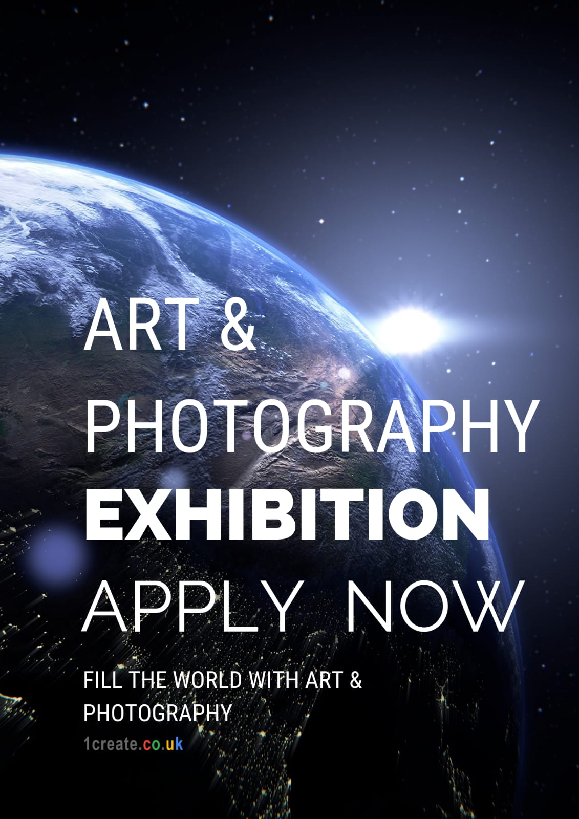1create - fill the world with art and photography 2019