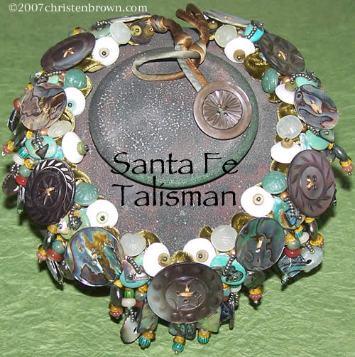Santa Fe Talisman- necklace