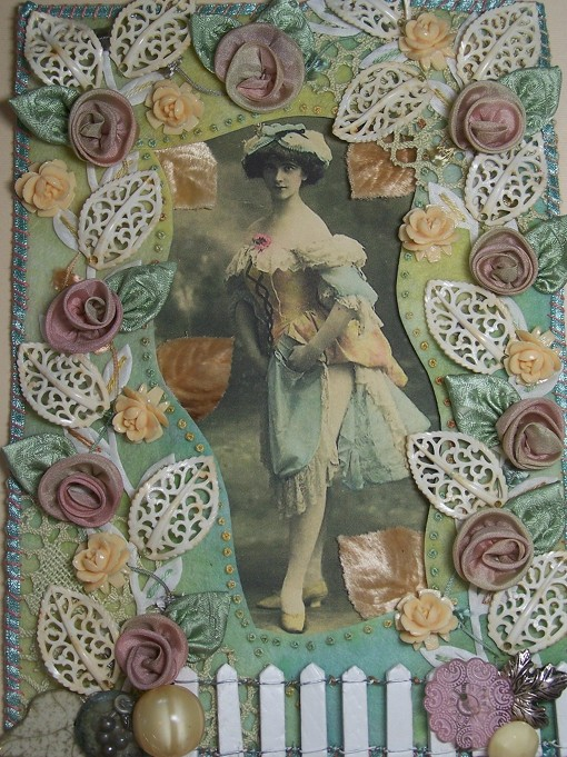 Feminine French Lady